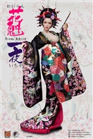 Oiran Ichiya Furisode Clothing Set - Four Versions - i8 1/6 Scale Accessory Set