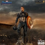 Captain America Deluxe Version - Statue - Iron Studios 1/4 Scale Legacy Replica