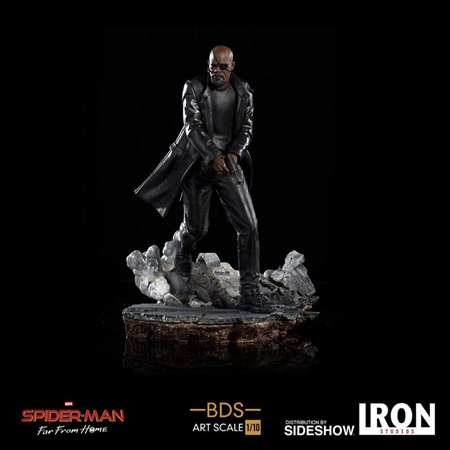 Nick Fury - Spider-Man: Far from Home - Battle Diorama Series - Iron Studios Art Scale 1/10 Statue