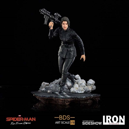 Maria Hill - Spider-Man: Far from Home - Battle Diorama Series - Iron Studios Art Scale 1/10 Statue