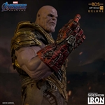 Thanos Deluxe - Black Order - Avengers: Endgame - Battle Diorama Series Art Statue - Iron Studios 1/10 Scale