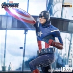 Captain America 2012 Statue - Avengers: Endgame - Battle Diorama Series Art Statue - Iron Studios 1/10 Scale