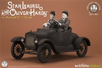 Laurel & Hardy on Ford Model T - Infinite Statue 1/12 Scale