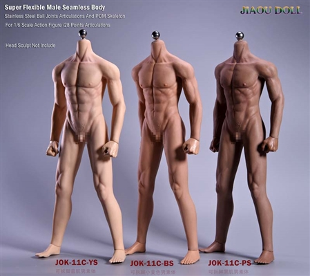 Normal Male Body - Three Options - Jiaou Doll 1/6 Scale Body