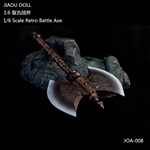 Retro Battle Axe - Jiaou Doll 1/6 Scale Accessory