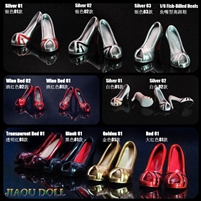 Fish-Billed Heels - 7 Color Options - Jiaou Doll Female Accessories