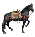 Horse - Black Version - JS Model 1/6 Scale Action Figure Accessory