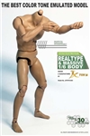Male Muscular Figure Best Color Tone Body - JX Toys 1/6 Scale