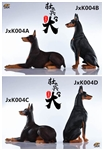 Doberman Pinscher - Four Versions - JxK Studios 1/6 Scale Accessory
