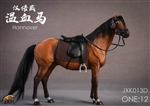 Horse with Saddle - Chestnut - JxK Studios 1/12 Scale Accessory