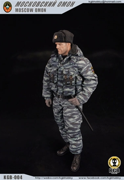 Moscow Omon Police 1/6 Accessory Set - KGB Hobby
