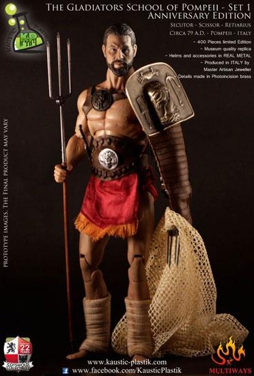 Gladiator School Of Pompeii First Anniversary 1 6 Figure