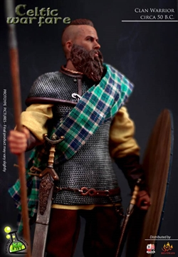 Celtic Warfare: Clan Warrior - Kaustic Plastik 1/6 Scale