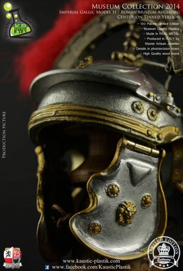 Centurion Roman 1/6 Imperial Gallic Model H Helm