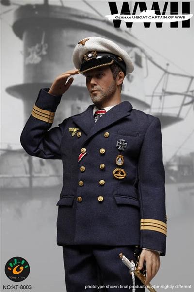 U-Boat Captain - WWII German - Kings Toys 1/6 Scale Figure
