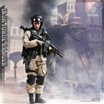 ASOC 1993 - US Special Military Force - Army Special Operations Command - Crazy Figure 1/12 Scale