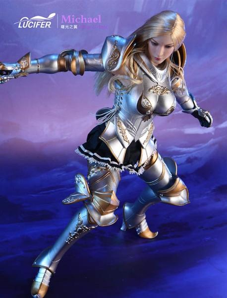 Wings of Dawn Swordsman - Lucifer 1/6 Scale Modeling Figure