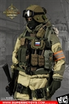 Russian Spetsnaz--FSB Alfa Group 3.0 (Gorka Version) - MC Toys 1/6 Scale Accessory Set