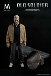 Bench for Old Man - Mini Figure 1/6 Scale