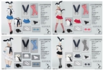 Sailor Suit - Four Color Options - Manmodel 1/6 Scale Clothing Set