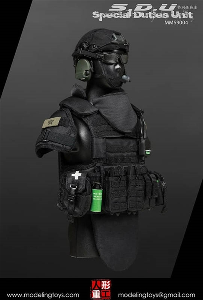 S.D.U SPECIAL DUTIES Gas mask Model MODELING TOYS 1//6 MILITARY SERIES