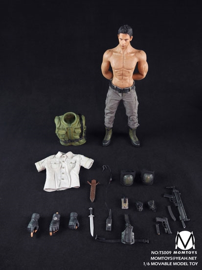 Toys For Chris : Zombie hunter mom toys figure