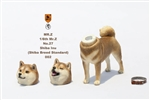 Japanese Shiba Inu (Standard) - Mr.Z 1/6 scale dog with two replaceable heads