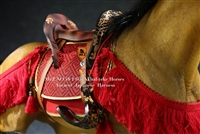 Saddle and Tack Harness for Horse - Mr. Z 1/6 Scale Accessory