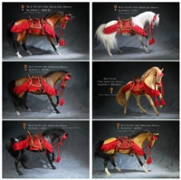 Horse - Six Versions - With Saddle - Mr. Z 1/6 Scale Animal Model