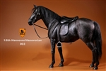 Hanoverian Horse Set with Tack - Black Version - Mr. Z 1/6 Scale Accessory