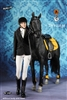 Equestrian Set in Black - Mr. Z 1/6 Scale Accessory Set