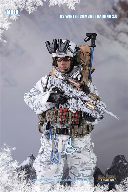 US Winter Combat Training 2.0  - Mini Times 1/6 Scale Figure