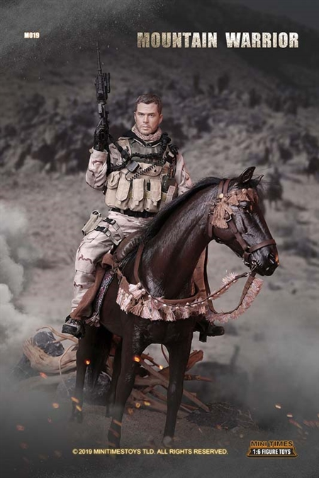 Mountain Warrior with Tack Accessories - Mini Times 1/6 Scale Figure