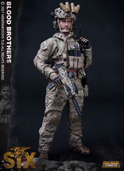 US Navy SEAL Team Six - Mini Times 1/6 Figure