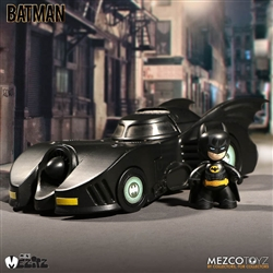 1989 Batman and Batmobile - Mezco Mez-itz Series