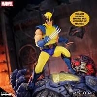 Wolverine - Deluxe Steel Box Edition - Mezco ONE:12 Scale Figure