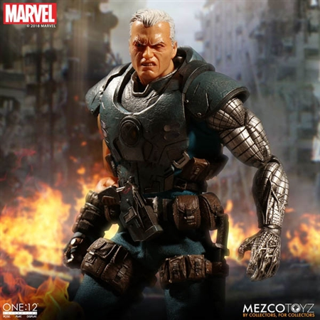 Cable - Mezco ONE:12 Scale Figure
