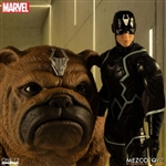 Black Bolt & Lockjaw Set - Inhumans - Mezco ONE:12 Scale Figure