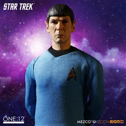 Spock - Star Trek - Mezco 1/12 Scale Figure