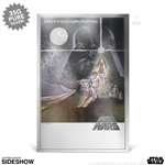 Star Wars: A New Hope Silver Foil - Silver Collectible - New Zealand Mint
