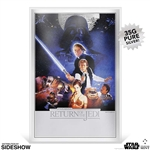 Star Wars: Return of the Jedi Silver Foil - Silver Collectible - New Zealand Mint