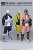 Big Swoosh Fashion Sport Sets - Three Color Options - One Six Verse 1/6 Scale Accessory
