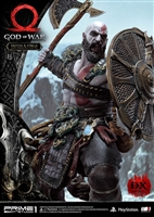Kratos & Atreus Ivaldi's Deadly Mist Armor Set (Deluxe Version) - God of War - Prime 1 Studio Statue
