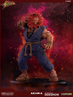 Akuma - Street Fighter V Statue - Pop Culture Shock
