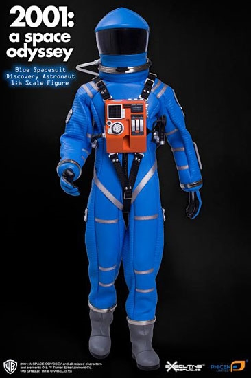 Discovery Astronaut Space Suit Blue