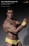 Phicen Limited Seamless Male Bodybuilder Figure with Stainless Steel Skeleton - 1/6 Scale Body
