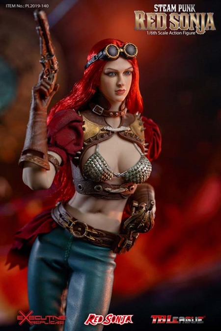 1//6 Scale TBLeague PL2019-140A Steam Punk Red Sonja IN STOCK