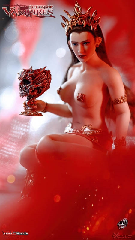 Arkalla Queen of the Vampires - 1/12 Scale Figure - TB League
