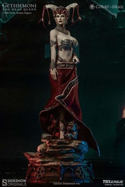 Gethsemoni reine des morts-Seamless Nude Body Dead couleur * 1//6 Scale TBLeague