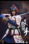 Ming Dynasty Musketeer - White Version - POP Toys 1/6 Scale Figure